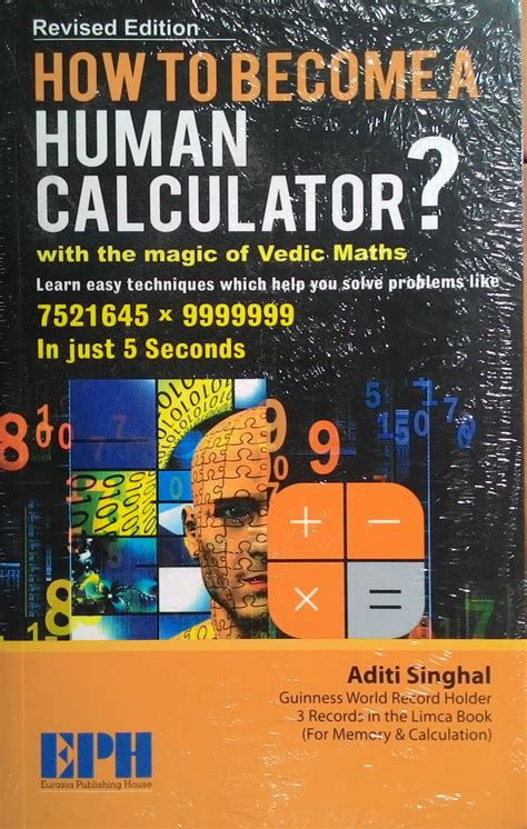 Math Magic Revised Edition how to become a human calculator with the magic of vedic