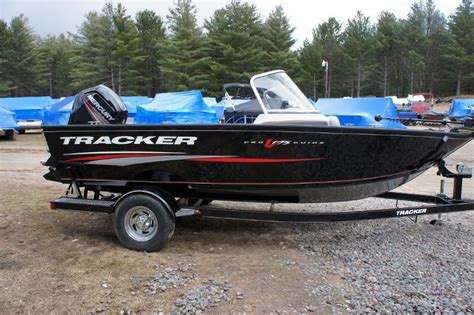 tracker boats for sale wi tracker pro guide 175 combo fish and ski new in three