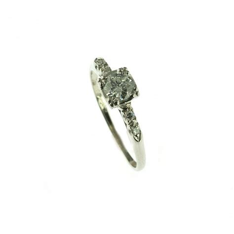 jewelry 14k white gold vintage engagement ring 2633799