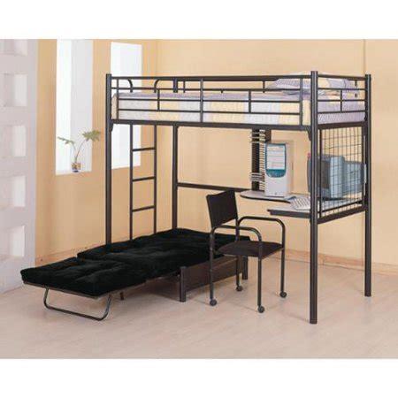 bunk bed with desk walmart bunks loft bunk bed with futon chair desk walmart