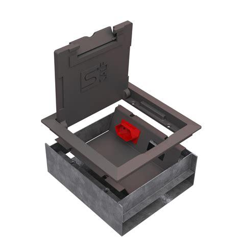 pisos de caixa dutos para pisos modelos caixas para tomadas