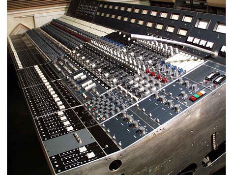 neve console neve 8038 custom console vintage mixing console