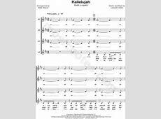 """Leonard Cohen """"Hallelujah"""" (arr. Deke Sharon) SSAA Choir A ... Leonard Cohen Hallelujah Song"""