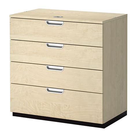 aufbewahrung schubladen galant drawer unit birch veneer ikea