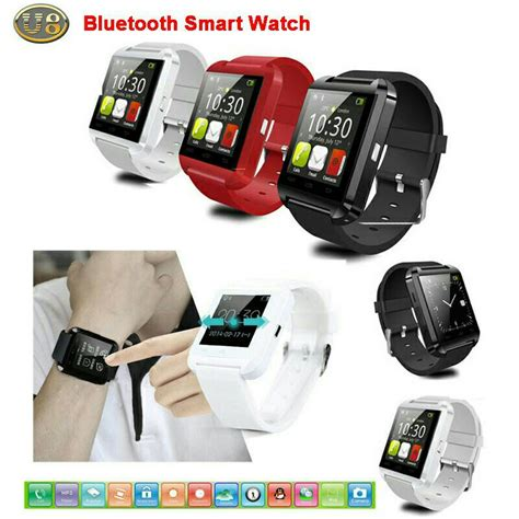 Smartwatch Kin U8 Hp Jam Tangan For Android Ios Black smartwatch u8 jam tangan dengan fungsi telepon sms elevenia