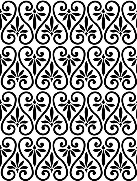 pattern white simple 12 simple graphic patterns images easy swirl pattern