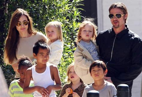 Brangelina And Baby Makes Six by They Did It Again Brangelina Adopt Syrian Orphan Baby