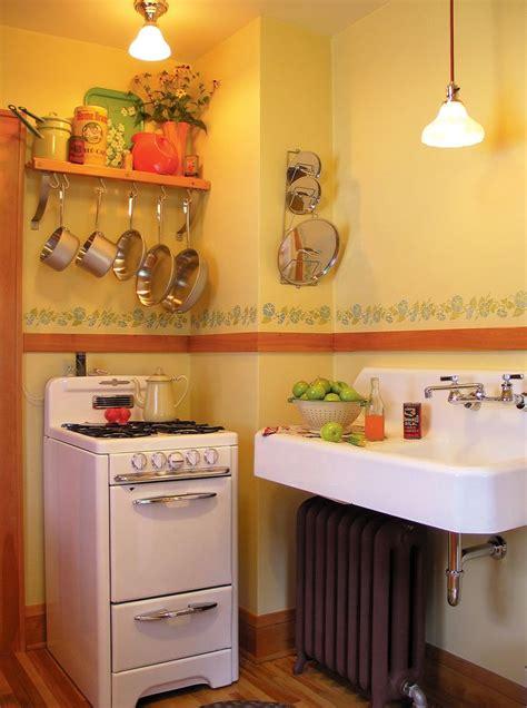 small retro kitchen small vintage stove kitchen ideas