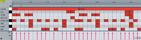 make drum pattern ableton create a hip hop influenced chillout beat loopblog