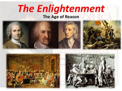 Age Of Enlightenment the enlightenment the age of reason ppt