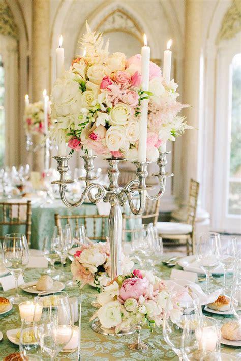 candelabra centerpieces for weddings 15 candelabra floral centerpieces mon cheri bridals