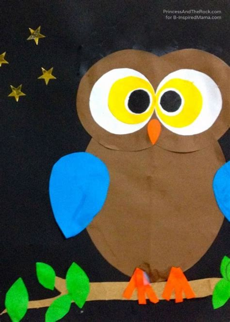 Paper Craft Owl - diy birds craft 24 easy paper owl craft ideas for