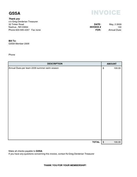 Https Www Vertex42 Exceltemplates Simple Receipt Template Html by Simple Invoice Template Free Free Excel Templates
