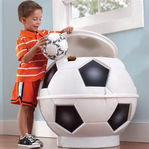 Creative Storage Ideas For Small Bedrooms step 2 football storage box contemporary kids toy