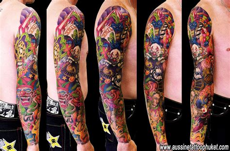 new school tattoo uk color artworks old school new school