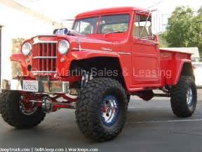Jeep Trucks For Sale Jeeps For Sale Jeep Trucks For Sale And Willys Jeep