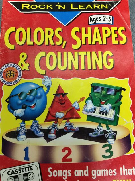 rock n learn colors shapes and counting rock n learn colors shapes and counting book pictures to