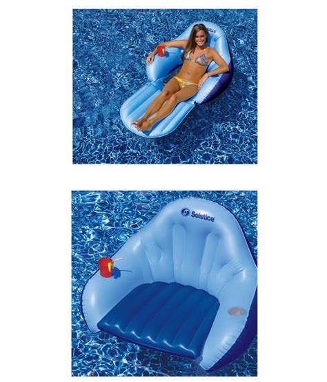 Floating Lounge Chair Design Ideas New Convertible Chair Float Lounge Lounger Raft Swimming Pool Lake Ebay