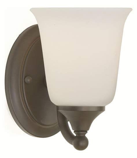 oil rubbed bronze sconces for the bathroom feiss one light oil rubbed bronze white opal glass