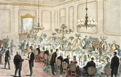 historical dinner in photos the state dining room and dinners since 1871