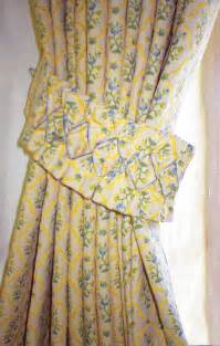 Blue And Yellow Kitchen Curtains Jayne Pearce Soft Furnishings Exmoor Portfolio
