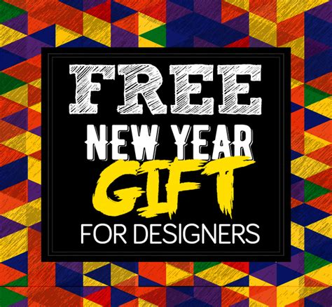 new year 2016 graphic design free new year 2016 gift pack for designers resources
