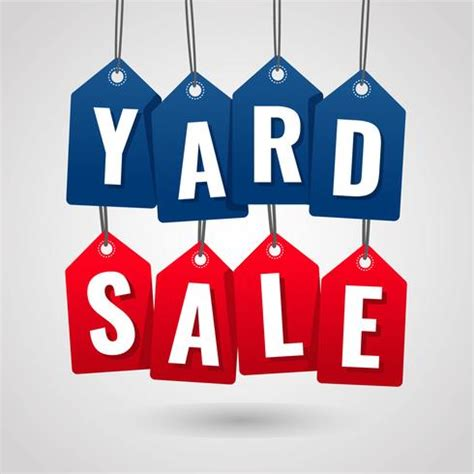 Yard Sale Labels
