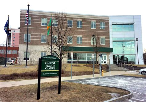 Union College Schenectady Mba by Clarkson Capital Region Cus Opens In