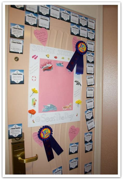 Cruise Cabin Decorations by 10 Ideas For Decorating Your Cruise Cabin Door Seastheday