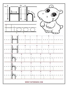 letter h coloring pages preschool printable letter h tracing worksheets for preschool