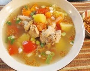 resep  membuat sop ayam spesial sedap