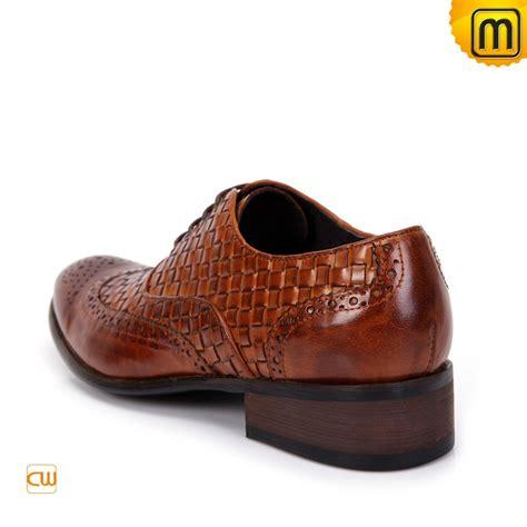 mens designer shoes mens designer lace up brogues shoes brown cw761131