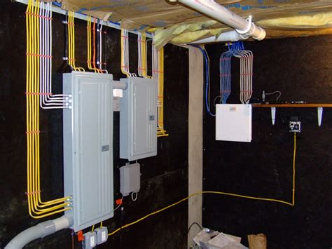 new home electrical wiring structured wiring and panels for residential homes