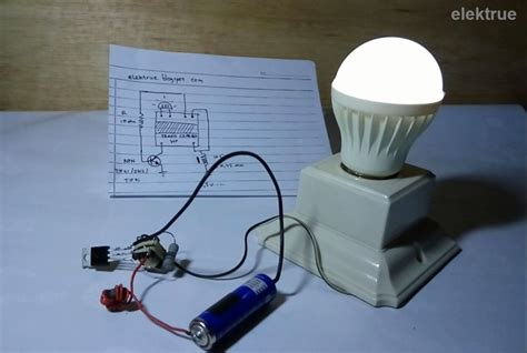 membuat lu led jadi dc membuat joule thief untuk menyalakan lu led 220 volt