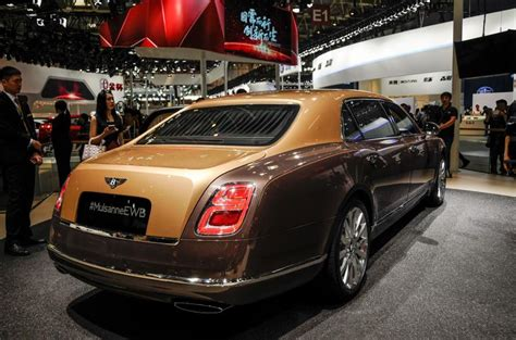 who makes bentley motor cars bentley mulsanne edition makes world debut in