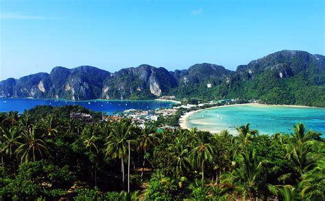 phi phi island thailand best places points of interest for tourist