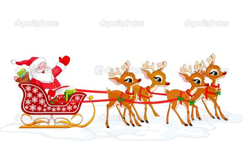 sleigh clipart animated pencil and in color sleigh