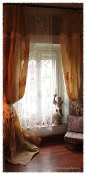 Antique Lace Curtains Antique Lace Curtain Window Dressing