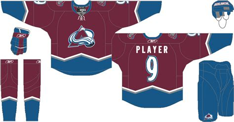 colorado avalanche colors bmac s nhl 2012 colorado avalanche