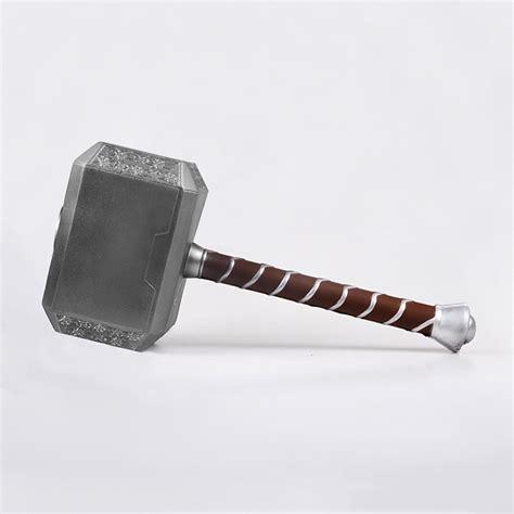 thor swinging hammer thor s hammer 1 1 replica toy superheroez