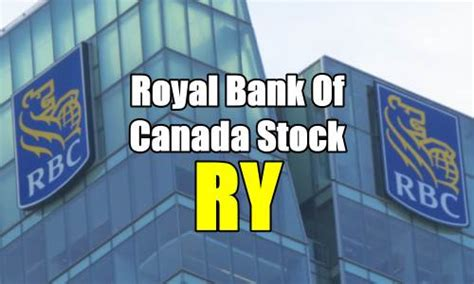 royal bank stock trading royal bank of canada stock ry trade alert for jan 24