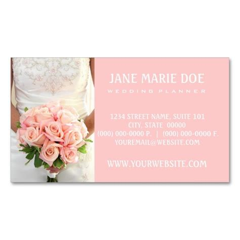 planner business cards templates 2207 best wedding business card templates images on