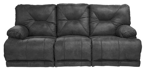 lay down sofa catnapper voyager lay flat sofa with 3 recliners and drop