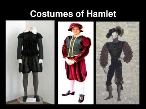 minor themes in hamlet costumes of hamlet
