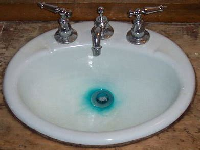 how to remove blue water stains from bathtub blue green stains on bathroom fixtures a ga plumber