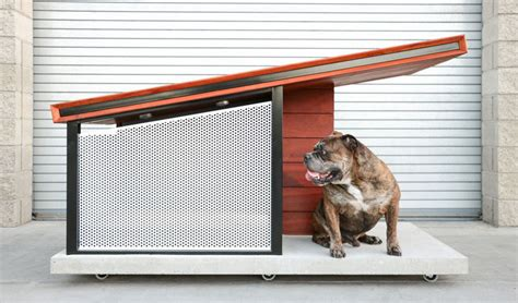 the dog house ri this modern dog house is designed to fit your home s aesthetic contemporist