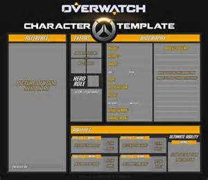 Original Template by Overwatch Original Template By Darthsuki On Deviantart