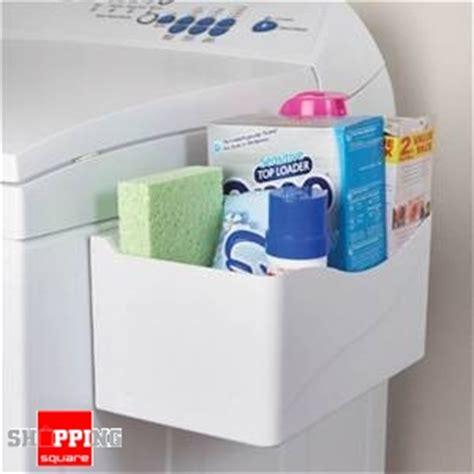 magnetic storage bin laundry storage organiser