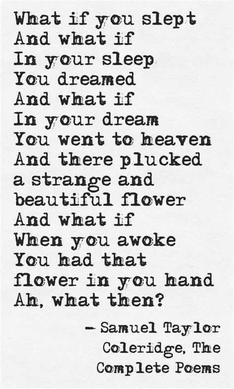 Samuel Taylor Coleridge | Poems, Literary quotes, Poetry