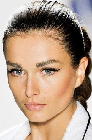 Summer 06 Makeup Podcast Strong Brows by 174 Best Andreea Diaconu Images On